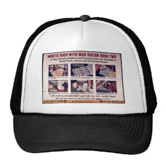 How To Shop With War Ration Book Two Hats
