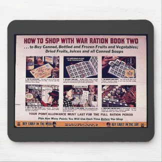How To Shop With War Ration Book Two Mouse Pad