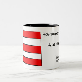 How to Speak Puerto Rican Two-Tone Coffee Mug