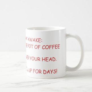 How to Stay Awake Mug