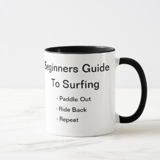 How to surf mug