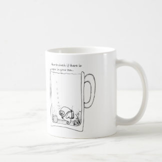 How to tell if there is sugar in your tea. coffee mug