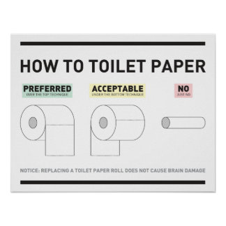 How To Toilet Paper Print