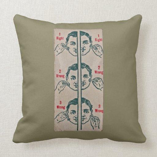 Throw Pillow Uses : how to use razor throw pillow Zazzle