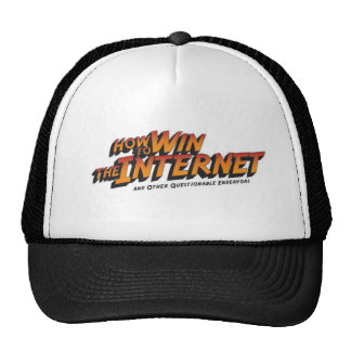 How to Win the Internet Basic Logo Trucker Hat