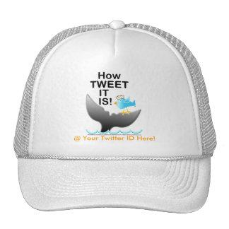 How TWEET It Is - Twitter & Facebook Special Cap! Trucker Hat