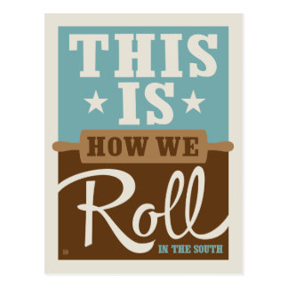 How We Roll Postcard