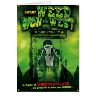 How Weed Won The West Soundtrack Greeting Card