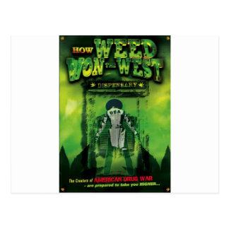 How Weed Won The West Soundtrack Postcard