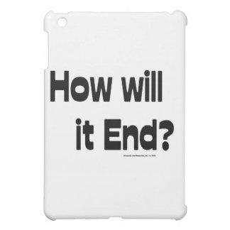 How Will It End iPad Mini Cases
