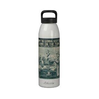 How Ya Gonna Keep 'Em Down On The Farm Water Bottles