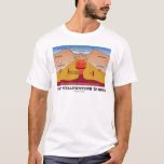 How Yellowstone Works (Geology Supervolcano) T-Shirt