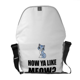 How You Like Meow Cat Courier Bag