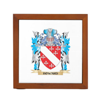 Howard Coat of Arms - Family Crest Pencil Holder