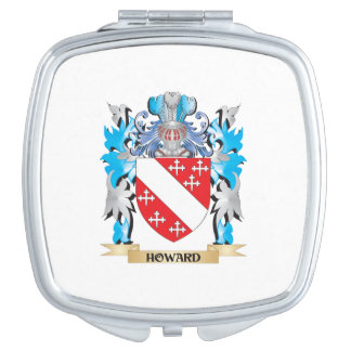 Howard Coat of Arms - Family Crest Travel Mirrors
