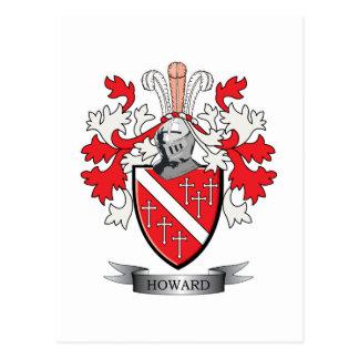 Howard Coat of Arms Postcard