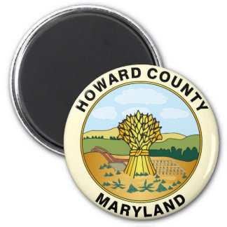 Howard County seal Magnet
