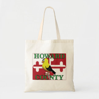 HOWARD COUNTY with goldfinch Tote Bag
