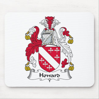 Howard Family Crest Mouse Pad