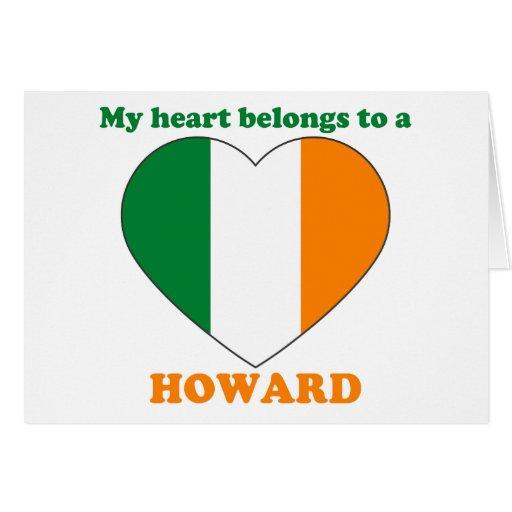 Howard Felicitación