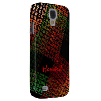 Howard Green and Red Samsung Galaxy S4 case