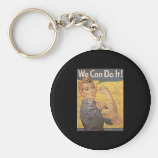 Howard Miller We Can Do It Rosie the Riveter Keychain