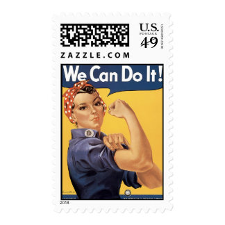 Howard Miller We Can Do It Rosie the Riveter Postage