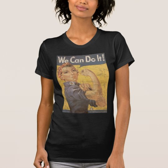 Howard Miller We Can Do It Rosie the Riveter T-Shirt