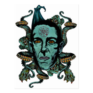 Howard Phillips Lovecraft Postcard