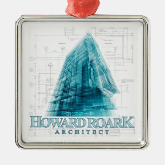 Howard Roark Architect Christmas Ornament