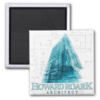 Howard Roark Architect Magnet