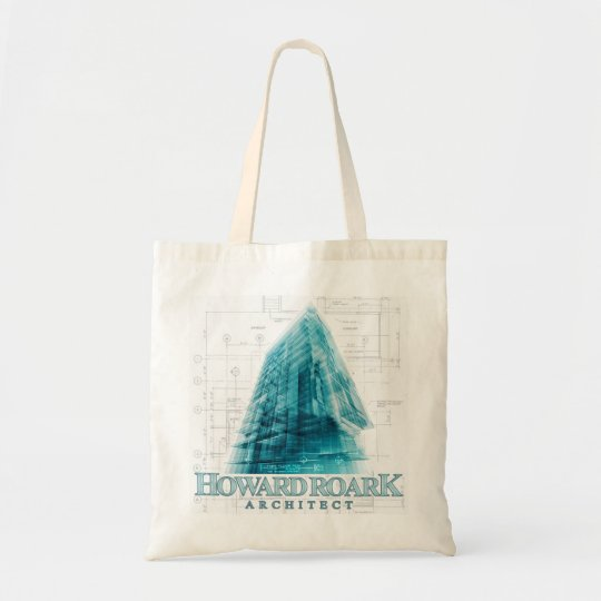 Howard Roark Architect The Fountainhead Tote Bag