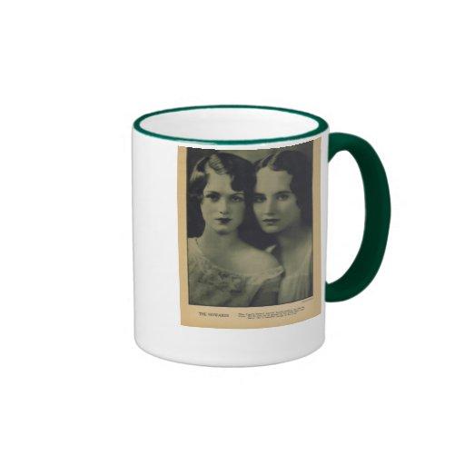 Howard sisters 1926 vintage portrait mug