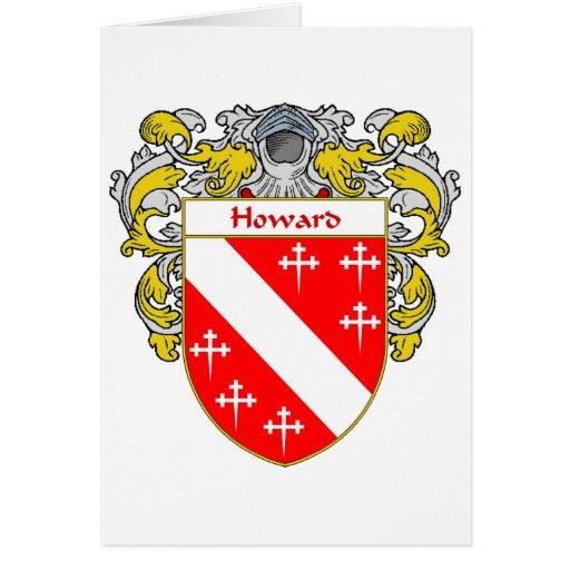 Howard Welsh Coat of Arms (Mantled) Cards