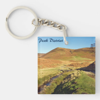 Howden Moor in the Peak District souvenir photo Keychain