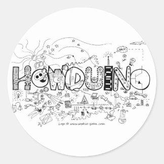 Howduino Stickers
