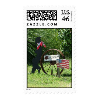 Howdy01 Postage Stamp