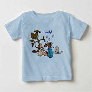"""""""Howdy"""" 12 month tee"""