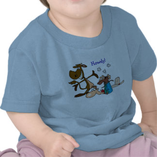 """Howdy"" 12 month tee"
