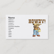 Howdy Business Card