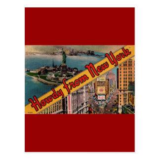 Howdy de Nueva York Tarjetas Postales