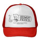 Howdy el restaurante de Pete (vintage) Gorro