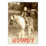 Howdy Felicitación