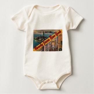 Howdy from New York Baby Bodysuit