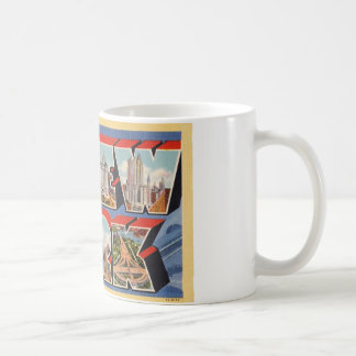 Howdy from New York Classic White Coffee Mug
