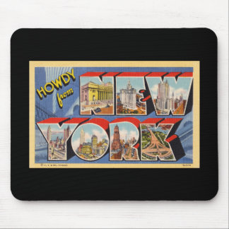 Howdy from New York Mouse Pad