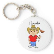 Howdy - Keychain