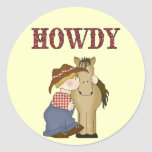 Howdy Lil' Cowboy with Horse Fun Stickers