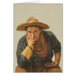 Howdy vaquero tarjetón