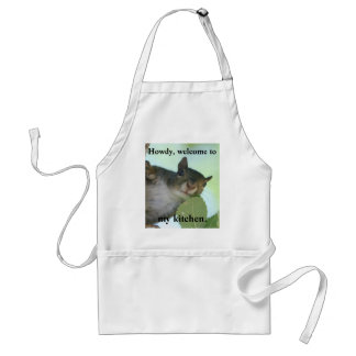 HOWDY, WELCOME TO MY KITCHEN ADULT APRON